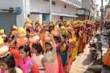 कलशयात्रा के साथ चार दिवसीय गायत्री यज्ञ शुरू