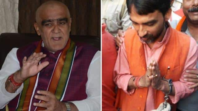 modi minister ashwani kumar chaubey and arjit chaubey