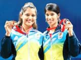 Deepika Pallikal and Joshna Chinappa