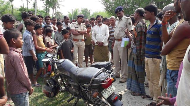भरगामा में बाइक सवार को बदमाशों ने मारी गोली, मौत