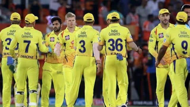 Chennai Super Kings beat Sunrisers Hyderabad