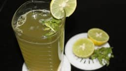 pudina lime juice
