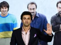 Ranbir Kapoor at teaser launch of Sanju