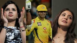 Sakshi, MS Dhoni and Anushka Sharma