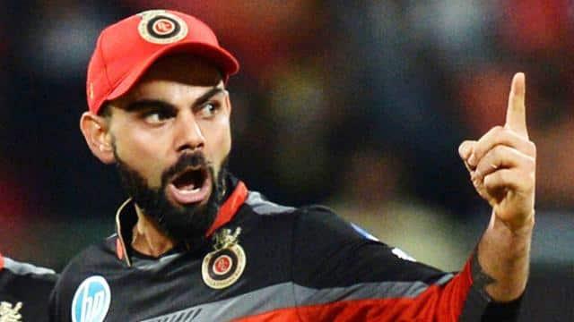 Image result for विराट कोहली भी काफी गुस्से में नजर आए, IPL