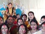 मां बाघेस्वरी देवी की प्रतिमा का हुआ विसर्जन