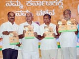 BJP Karnataka election manifesto released