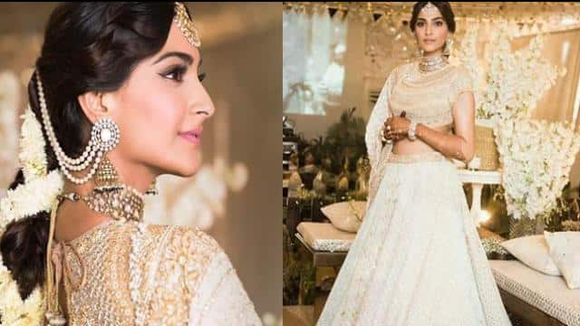 Image result for sonam kapoor marriage  लहंगा image 8may 2018