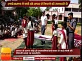 The National Disaster Response Force (NDRF) teach to school student how to save life During a disaster