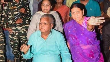 Lalu Prasad homecoming peps up son Tej Pratap wedding