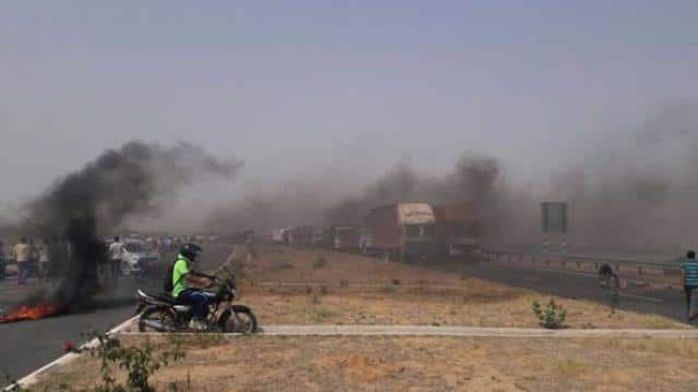 Mathura-Agra highway