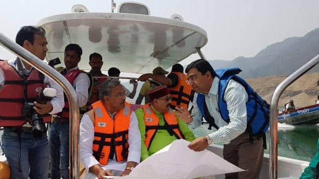 Image result for कैबिनेट बैठक के लिए मुख्यमंत्री और मंत्री पहुंचे टिहरी