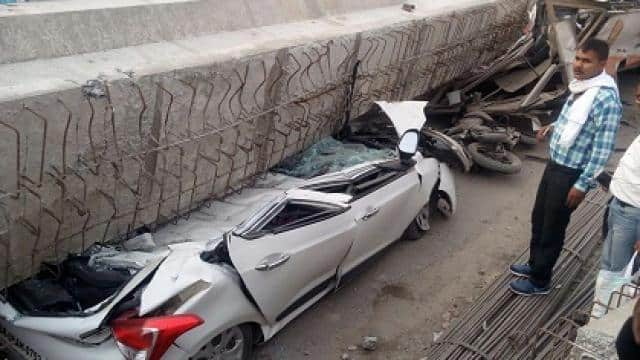 Varanasi Flyover Accident