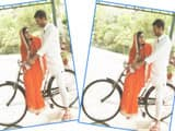 tej pratap aishwarya rai on bicycle
