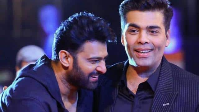 karan johar and prabhas