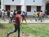 rampage and disturbance in election of Central Council member of Students Union in BNMU in madhepura