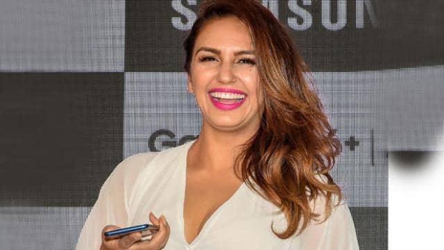 Huma Qureshi at a smartphone launch event