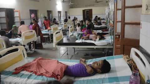 बच्चों की सेहत पर भारी पड़ रहा मौसम, अस्पताल का बच्चा वार्ड फुल
