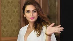Huma Qureshi at a smartphone launch event