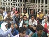 बीएचयू में एससी-एसटी छात्रों ने फीस वृद्धि के खिलाफ दिया धरना
