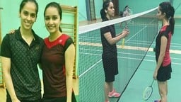 SHRADDHA AND SAINA NEHWAL