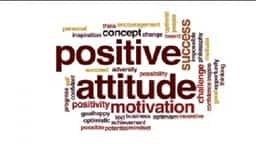 positive attitude for success