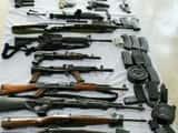 एनआईए को झुमरा के लुगू पहाड़ से मिला हथियारों का जखीरा