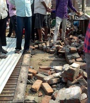 पूरनपुर में आई भयंकर आंधी से वृद्ध और छात्रा सहित दो की मौत
