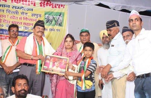 शहीद मेले में जय जवान जय किसान सम्मान समारोह का आयोजन