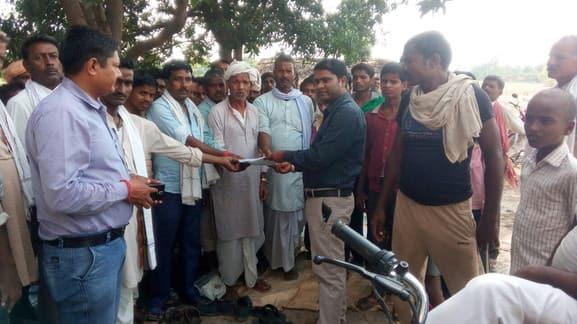 पानी को लेकर कलुवापुर में प्रदर्शन जारी, आज से अनशन