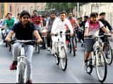 Lucknow, Akhilesh, Morning Walk, Cycling