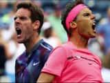 Rafael Nadal and Martin Del Potro