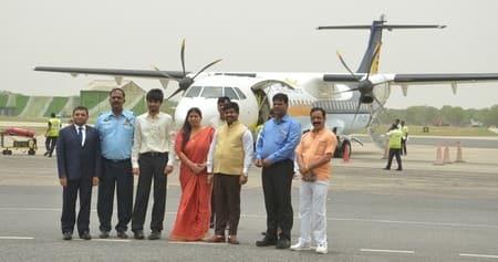 इलाहाबाद से लखनऊ-पटना के लिए विमान सेवा शुरू