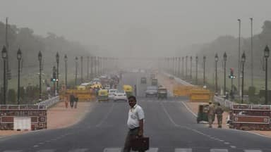 Strong west winds to keep Delhi hot