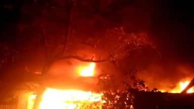 भोरंज : घर में लगी आग, मां-बेटे की मौत