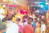 अलविदा जुमे की नमाज आज, ईद बाजार में उमड़ी भीड़