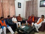 डॉक्टर भाइयों से मिलने पहुंचे केन्द्रीय मंत्री गिरिराज सिंह