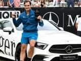 Roger Federer defeats Milos Raonic win title