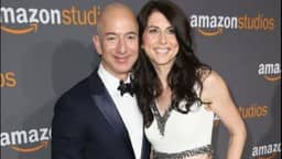 jeff bezos with wife