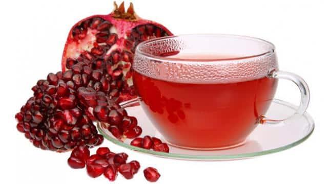 अनार के छिलके की चाय
