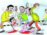 Rae Bareli, two sides, assault, nine people, injured