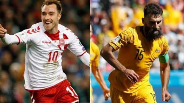 australia vs denmark fifa wc group c match