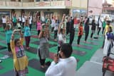 अंतरराष्ट्रीय योग दिवस पर योगमय रही तीर्थनगरी