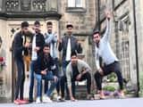 भारत-ए के खिलाड़ियों की मस्ती