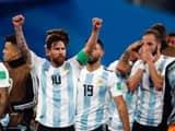 Argentina wins against Nigeria