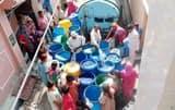शहर की एक तिहाई आबादी पानी खरीदकर पी रही