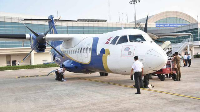 वाराणसी से काठमांडू के बीच विमान सेवा शुरू (फोटो: मोहम्मद मुकीद)