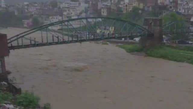 जम्मू-कश्मीर में बाढ़ का अलर्ट (एएनआई फोटो)