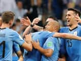 Uruguay 2-1 victory over Portugal in Sochi