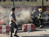 विस्फोट में कम से कम 2० लोग मारे गये और कई अन्य घायल हो गये।  (REUTERS)